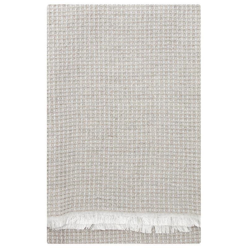 Lapuan Kankurit Laine bath towel, white - linen