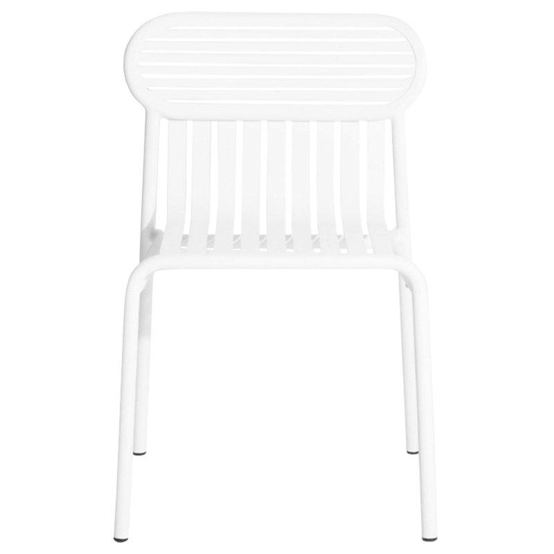 Petite Friture Week-end tuoli, valkoinen