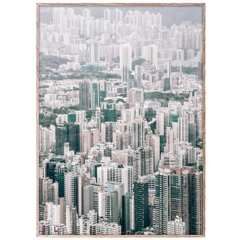 Paper Collective City View poster