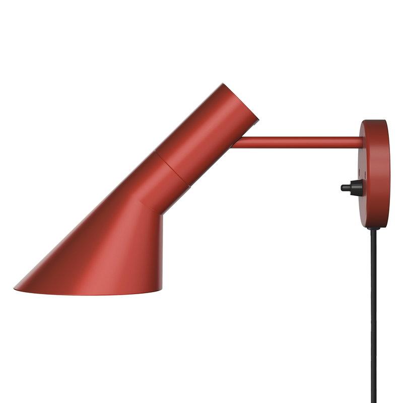 Louis Poulsen AJ seinävalaisin, ruosteenpunainen