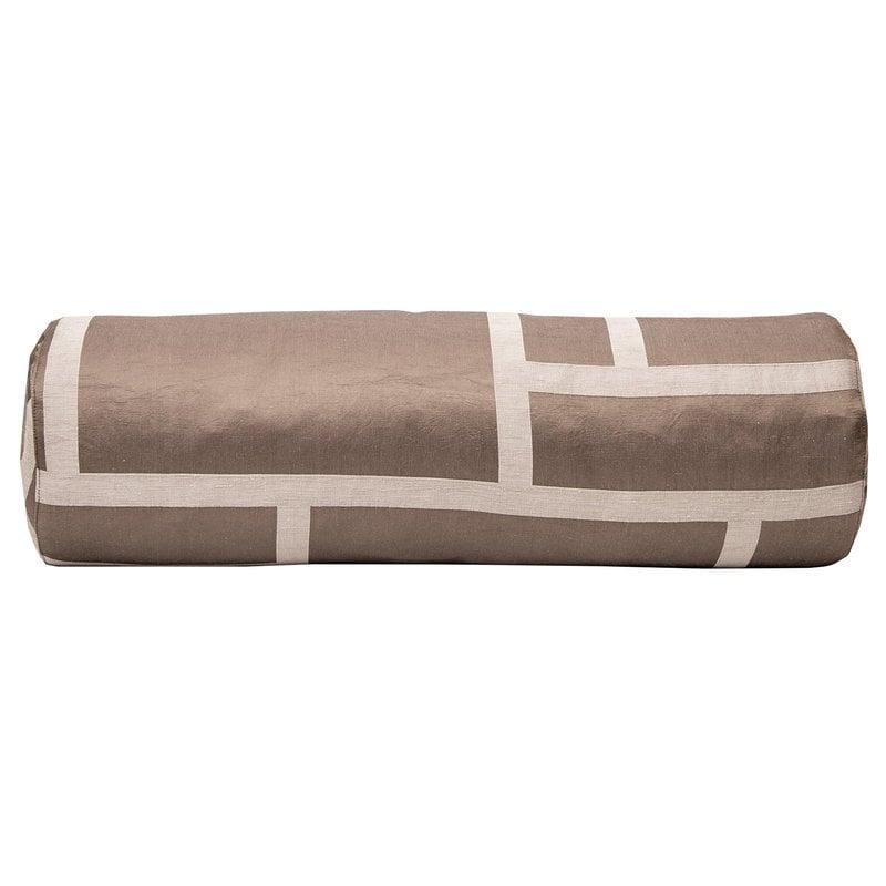 Johanna Gullichsen Palazzo tube cushion, light mud