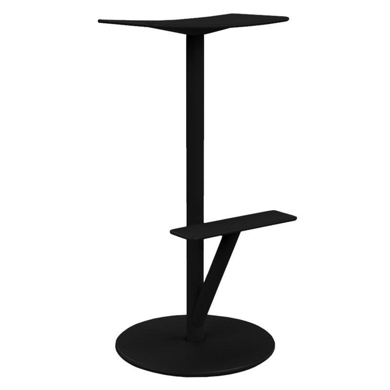 Magis Sequoia bar stool, 76 cm, black