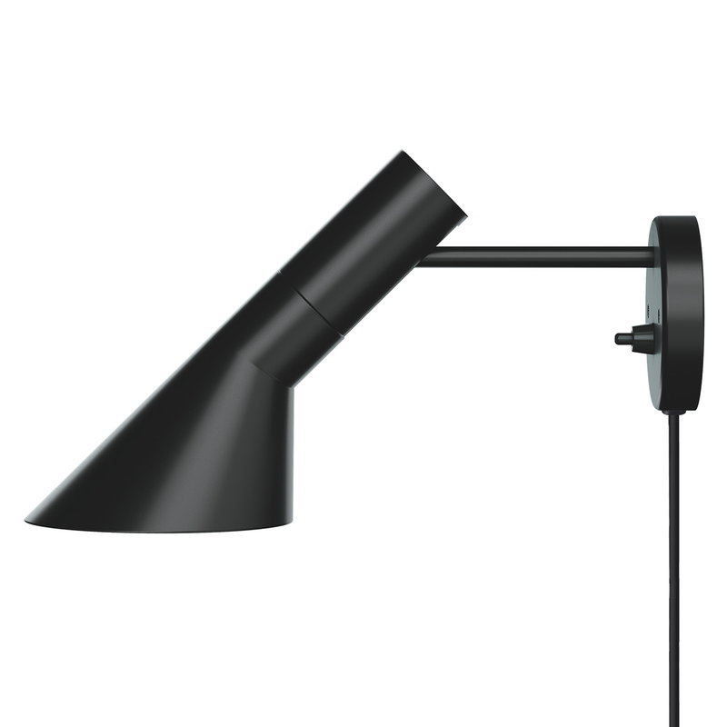 Louis Poulsen AJ wall lamp, black