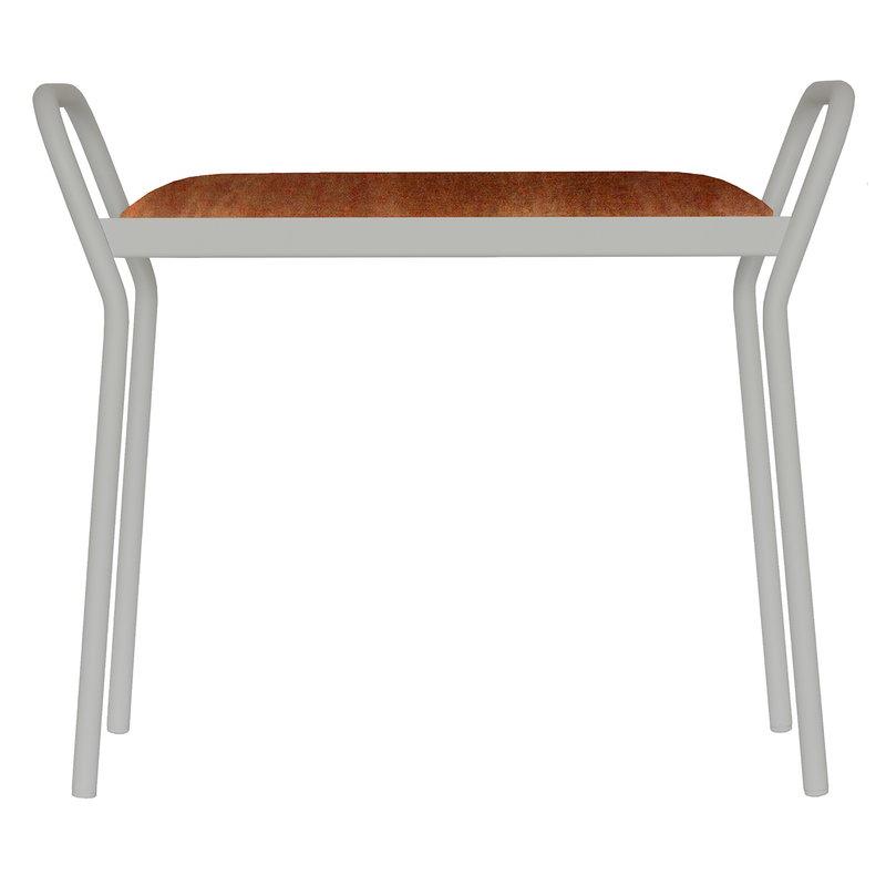 Maze Anyone stool, grey - rust
