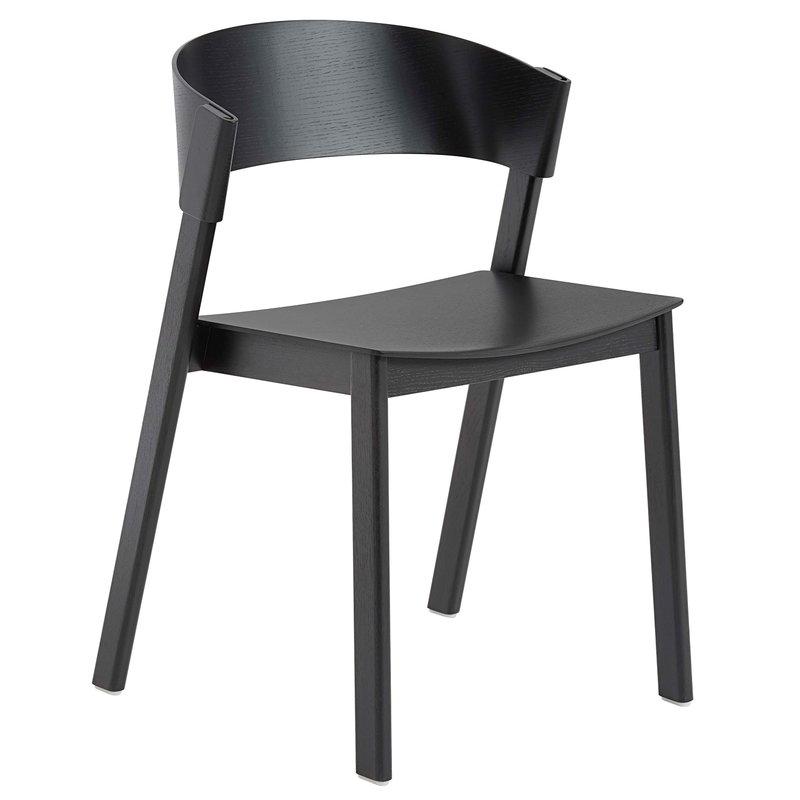 Muuto Cover tuoli, musta