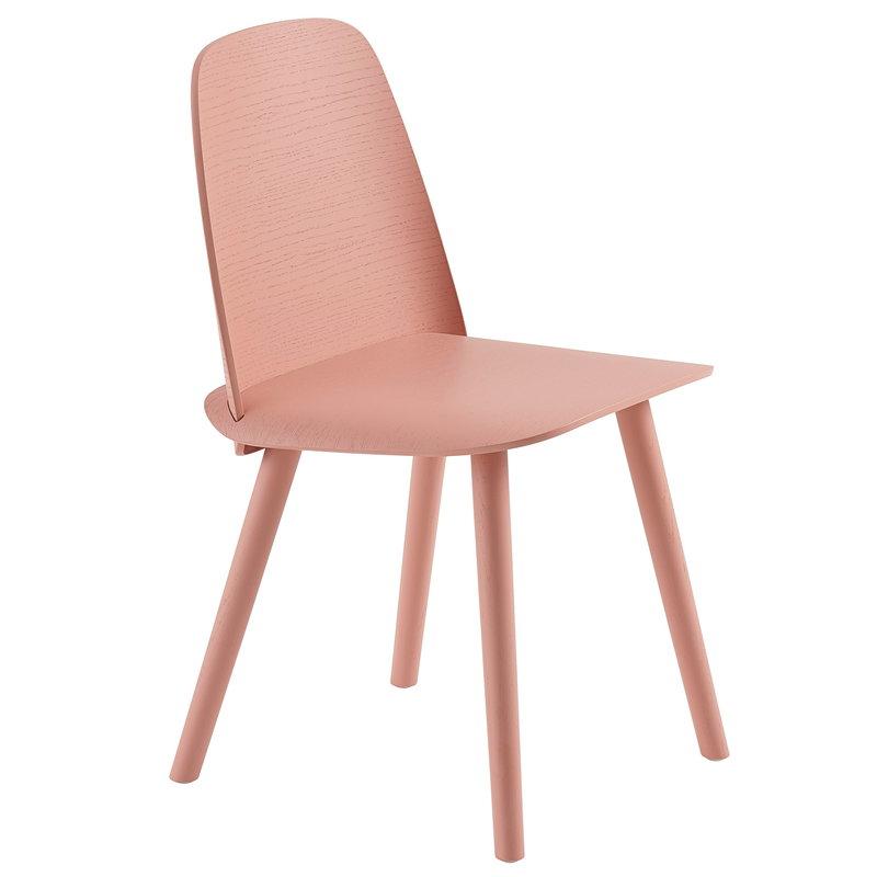 Muuto Nerd tuoli, tan rose