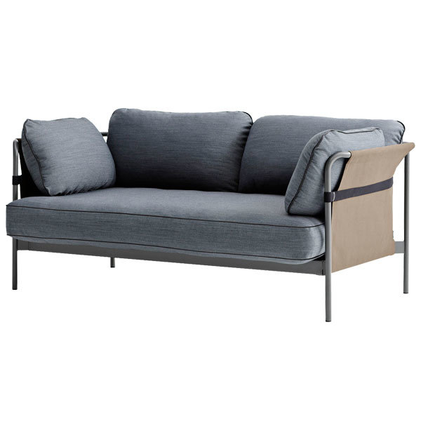 hay can sofa 2 seater grey army frame surface 990. Black Bedroom Furniture Sets. Home Design Ideas