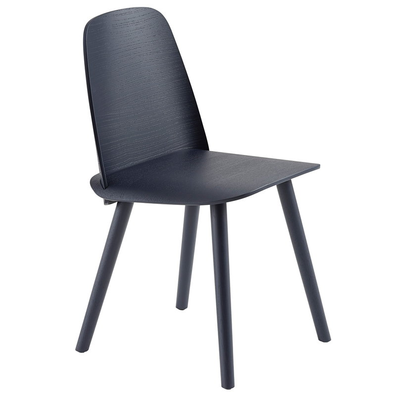 Muuto Nerd tuoli, midnight blue