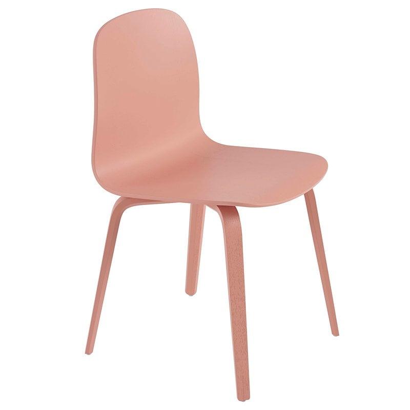 Muuto Visu tuoli, puujalat, tan rose