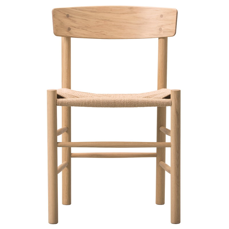 Fredericia J39 Mogensen chair, lacquered oak