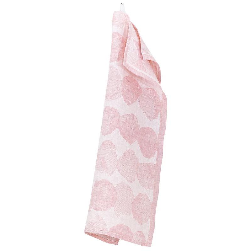 Lapuan Kankurit Sade käsipyyhe, valkoinen - roosa