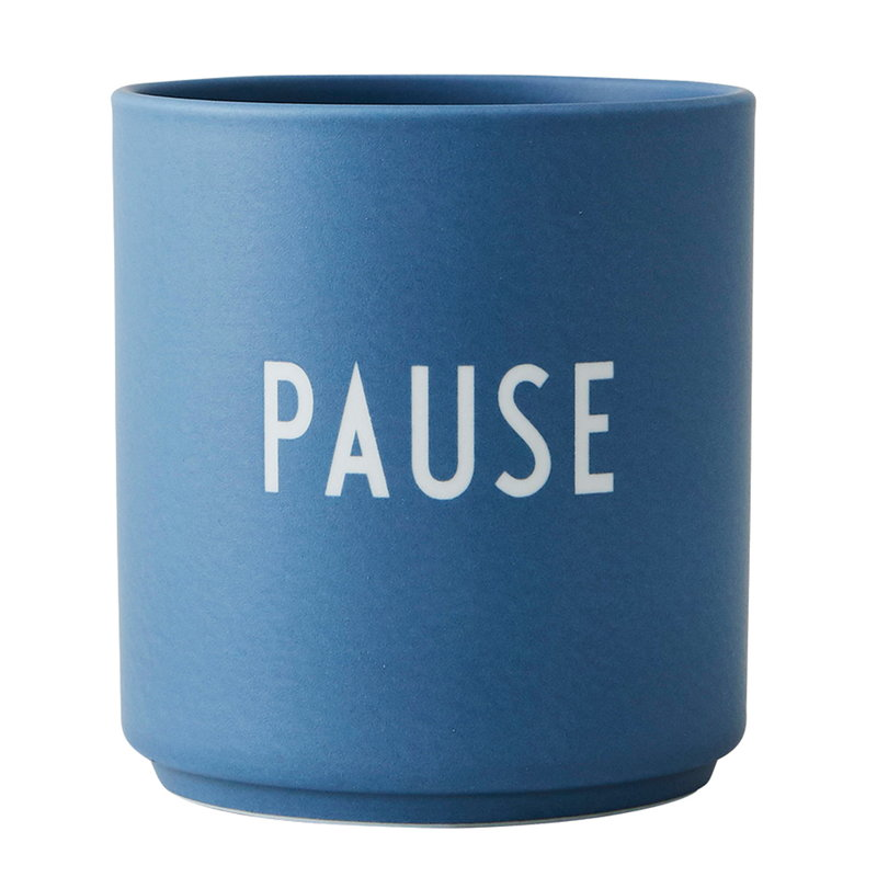 Design Letters Tazza Favourite Cup, Pause