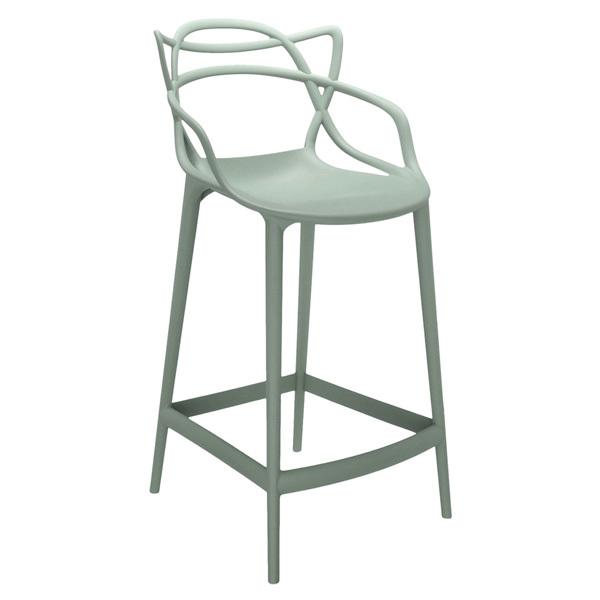 Kartell Sgabello Masters, verde salvia | Finnish Design Shop