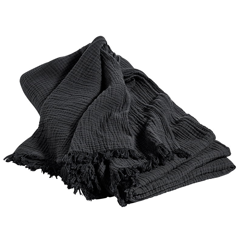 Hay Crinkle bed cover, anthracite