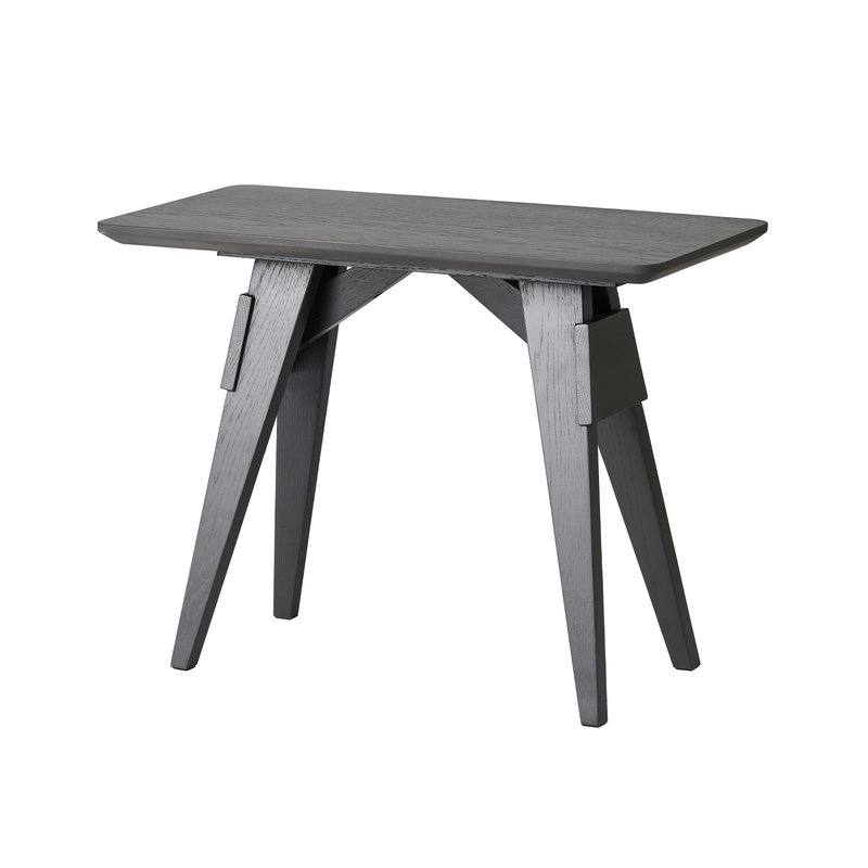 Design House Stockholm Arco side table, small, black