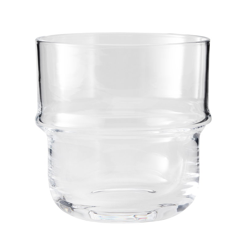 Design House Stockholm Unda drinking glass, clear, 2 pcs