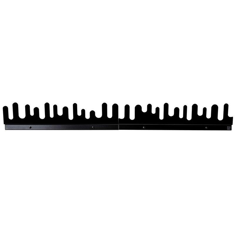 Design House Stockholm Wave hanger, 2-pack, black