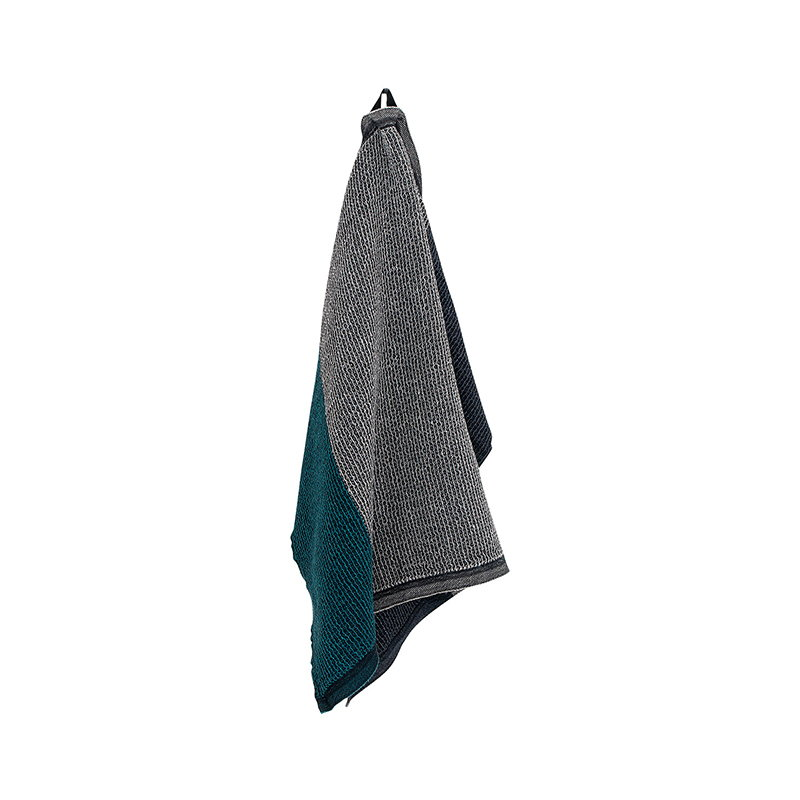 Lapuan Kankurit Terva hand towel, black-multi-petroleum