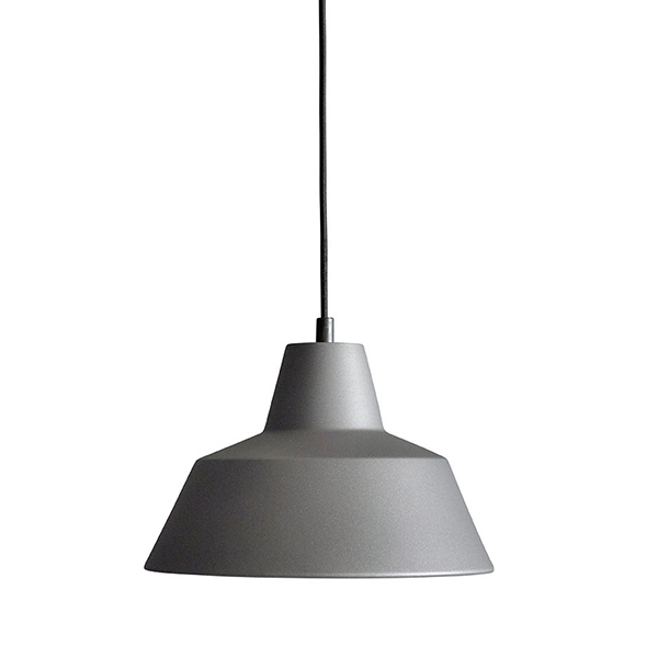 Made By Hand Workshop W2 pendant, anthracite grey
