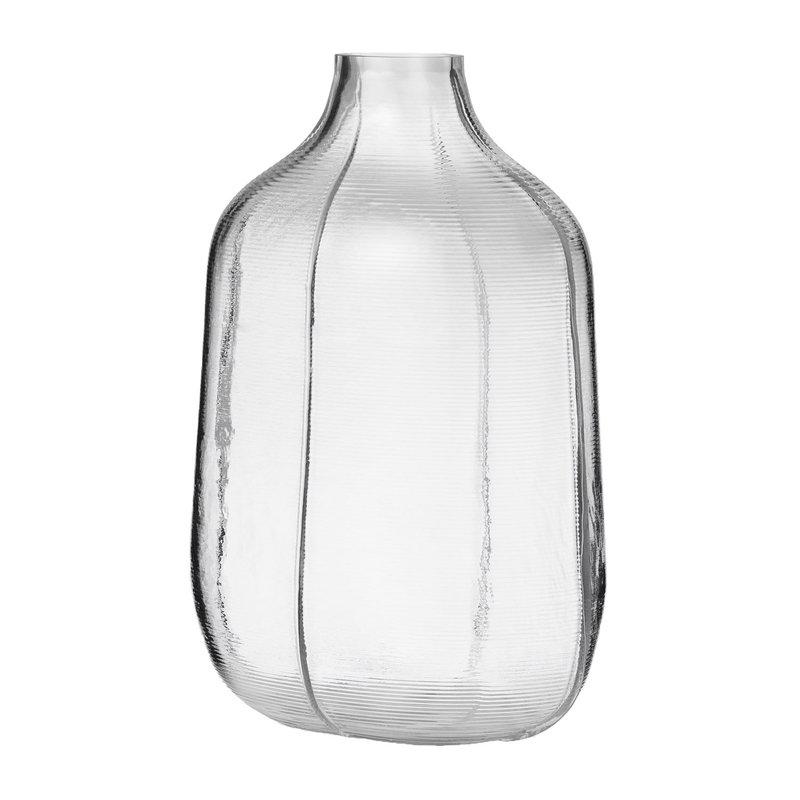 Normann Copenhagen Vaso Step 31 cm, trasparente