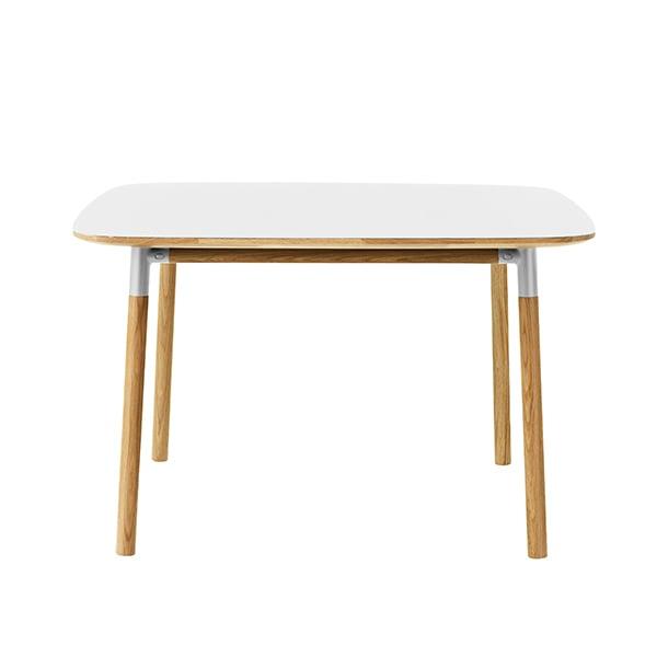 Normann Copenhagen Form table 120 x 120 cm, white-oak