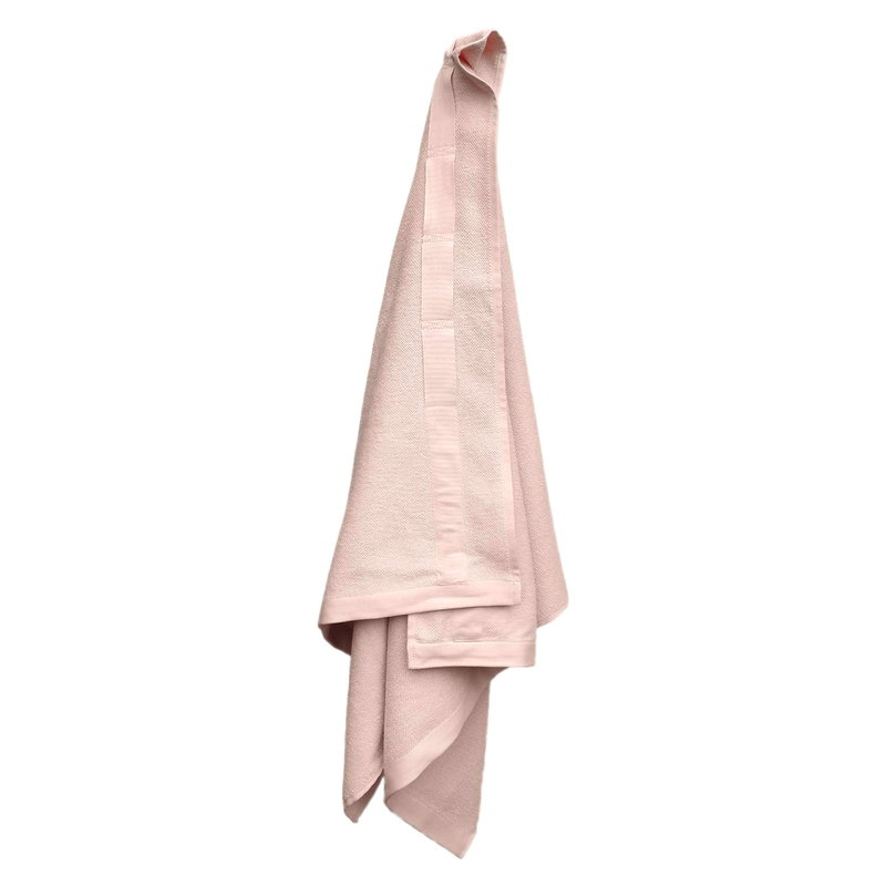 The Organic Company Everyday bath towel, pale rose