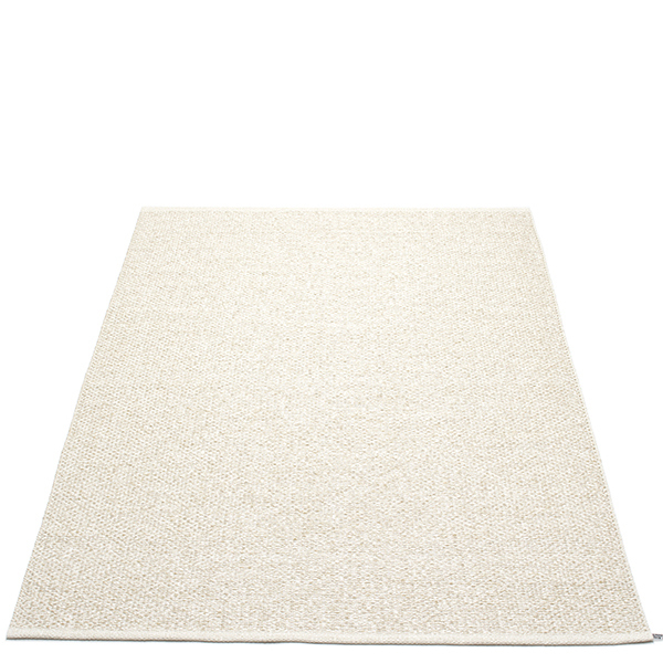 Pappelina Svea matto, 140 x 220 cm, beige metallic