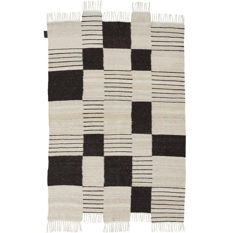 Sera Helsinki Palsta rug, off white - black