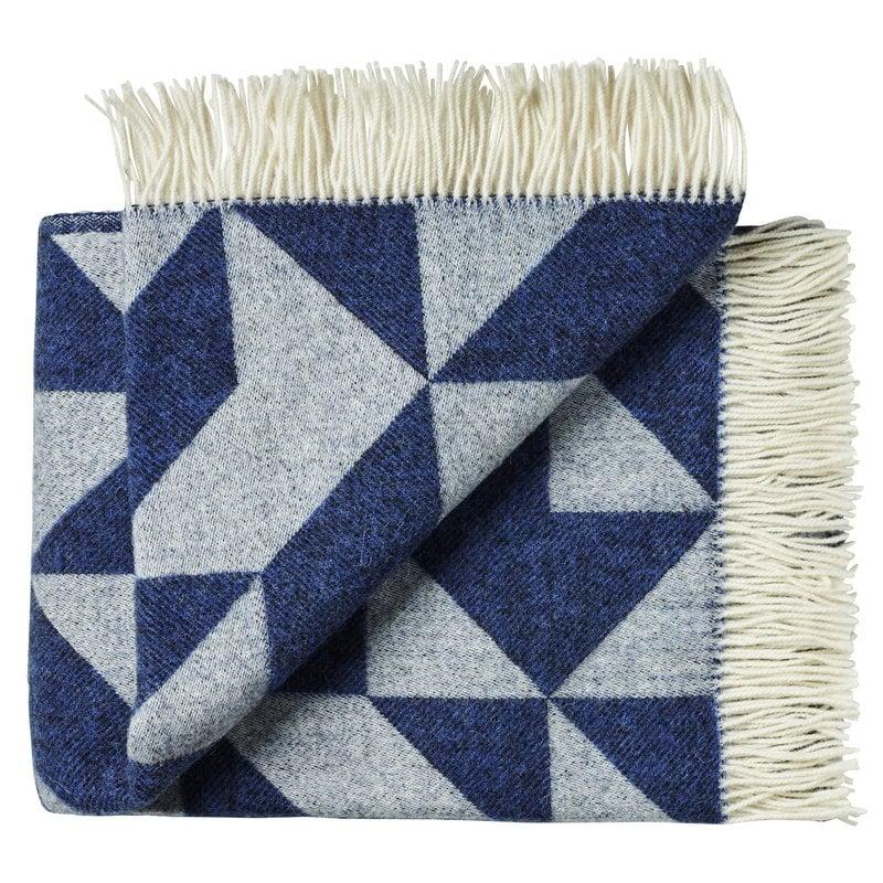 Ratzer Twist a Twill blanket, navy blue
