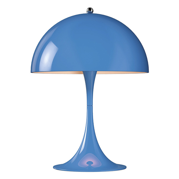 Louis Poulsen Panthella Mini table lamp, blue