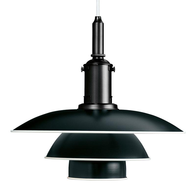 Louis Poulsen PH 3 1/2-3 pendant, special black edition