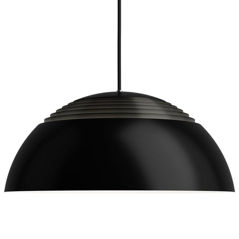 Louis Poulsen AJ Royal 500 pendant, black