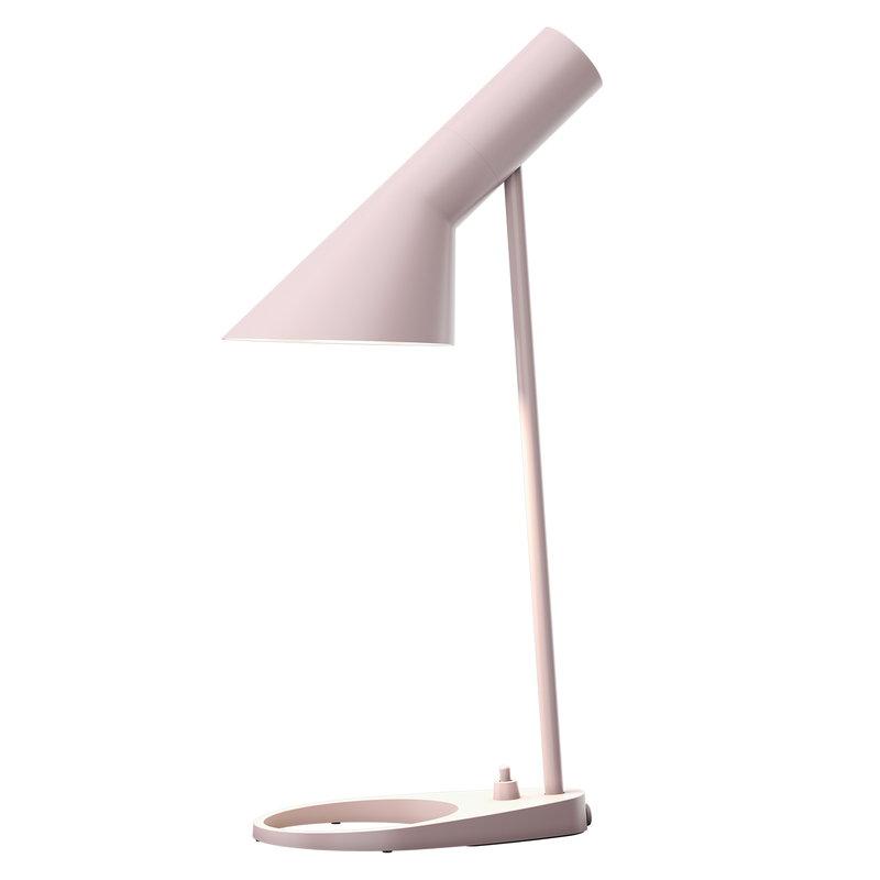 Louis Poulsen AJ Mini table lamp, pale rose