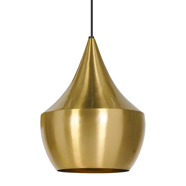 Tom Dixon Lampada Beat Light Fat, ottone