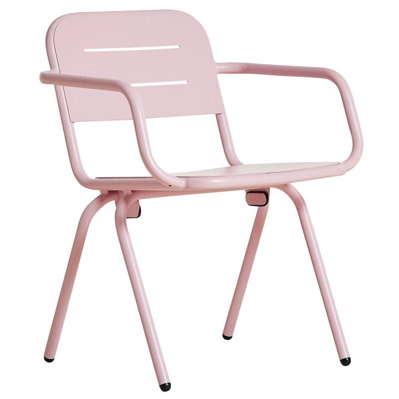 Woud Ray ruokapöydän tuoli, vaaleanpunainen