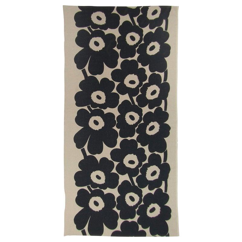 Marimekko Unikko tablecloth, 140 x 280 cm, linen - dark blue