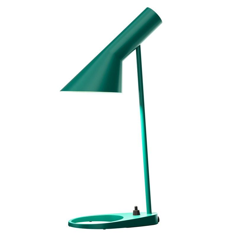Louis Poulsen AJ Mini table lamp, dark green