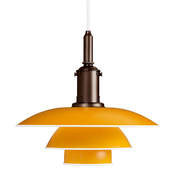 Louis Poulsen PH 3 1/2-3 pendant, yellow