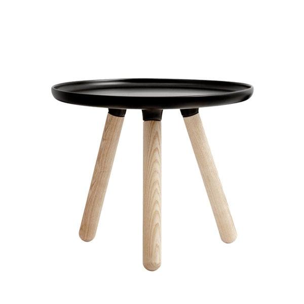 Normann Copenhagen Tablo pöytä pieni, mattamusta