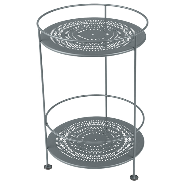Fermob Guinguette table, steel grey