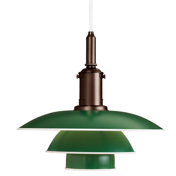 Louis Poulsen PH 3 1/2-3 pendant, green