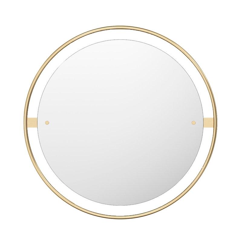 Menu Nimbus mirror 60 cm, polished brass