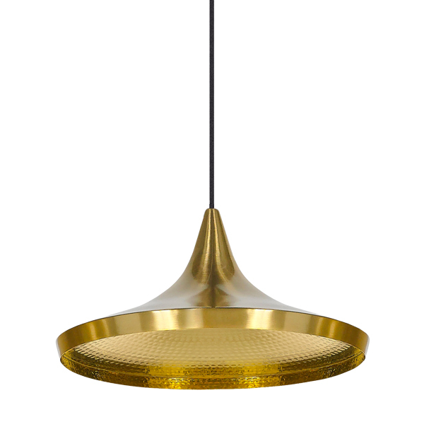 Tom Dixon Beat Light Wide valaisin, messinki