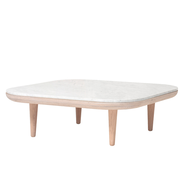 &Tradition Fly SC4 coffee table, white marble