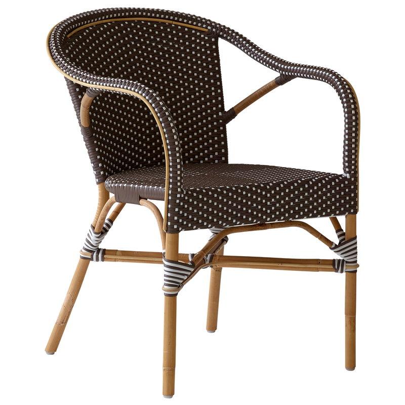 Sedie Con Braccioli Design.Sedia Madeleine Con Braccioli Cappuccino