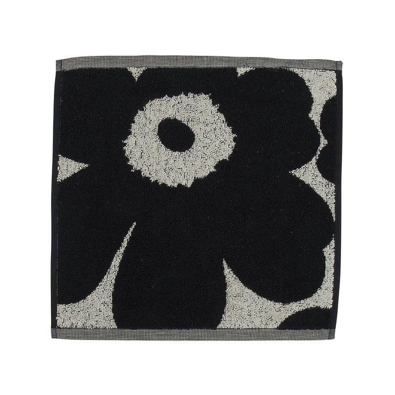 Marimekko Unikko mini towel, cotton - dark blue