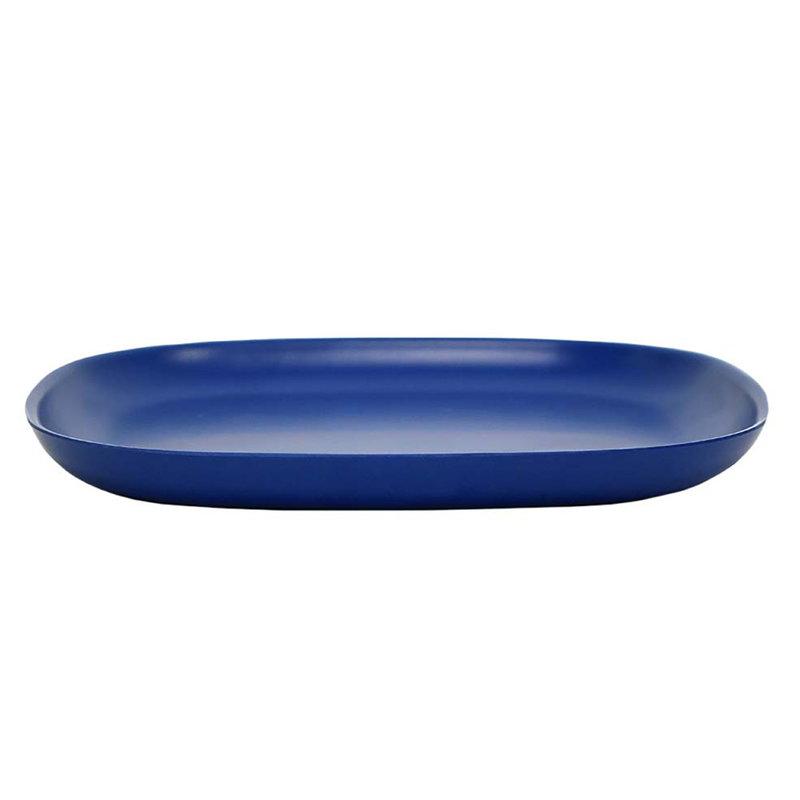 Ekobo Piatto BIOBU Gusto, L, blu