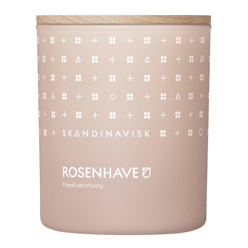 Skandinavisk Scented candle with lid, ROSENHAVE, large | Finnish Design Shop