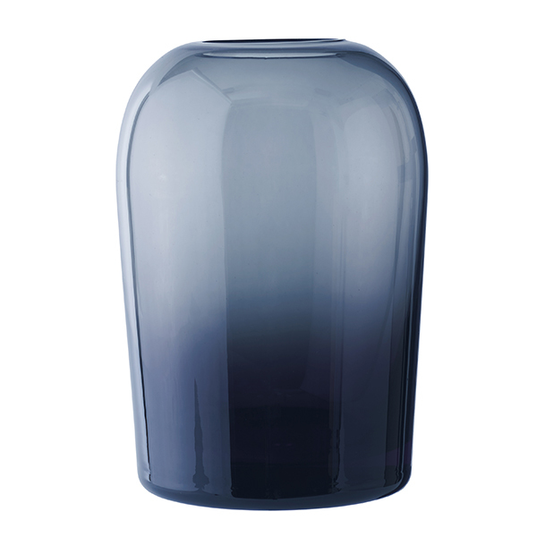 Menu Troll vase, L, midnight blue