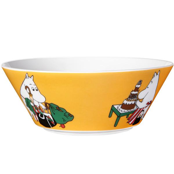 Arabia Moomin bowl, Moominmamma, apricot